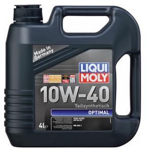 Масло моторное Liqui Moly Optimal, 10W-40