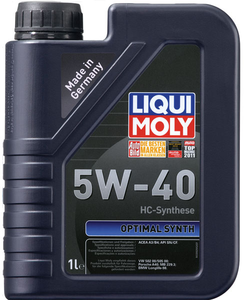 Масло моторное Liqui Moly НС Optimal Synt, 5W-40