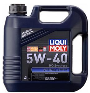 Масло моторное Liqui Moly НС-синтетика Optimal, 5W-40