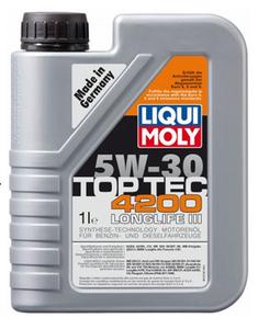 Масло моторное Liqui Moly НС Top Tec 4200, 5W-30