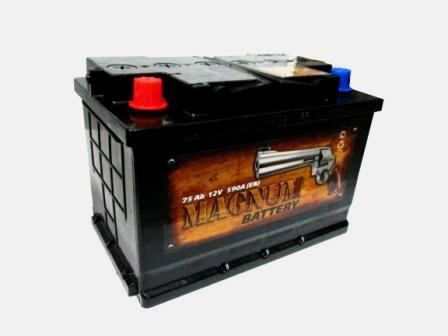 Аккумулятор Magnum 75 R+