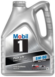 Масло моторное Mobil 1 Peak Life, 5W-50