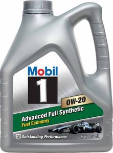 Масло моторное Mobil 1 Advanced Fuel Economy, 0W-20