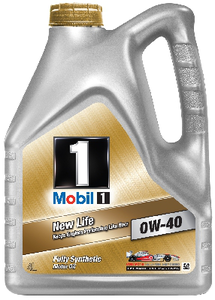 Масло моторное Mobil 1 New Life, 0W-40