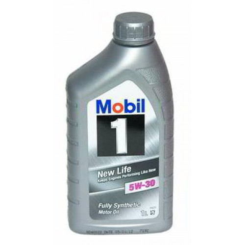 Масло моторное Mobil 1 New Life, 5W-30