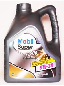 Масло моторное Mobil Super 3000 X1 Formula FE, 5W-30