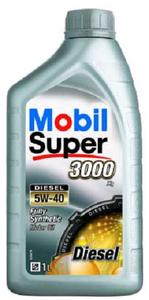 Масло моторное Mobil Super 3000 X1 Diesel, 5W-40
