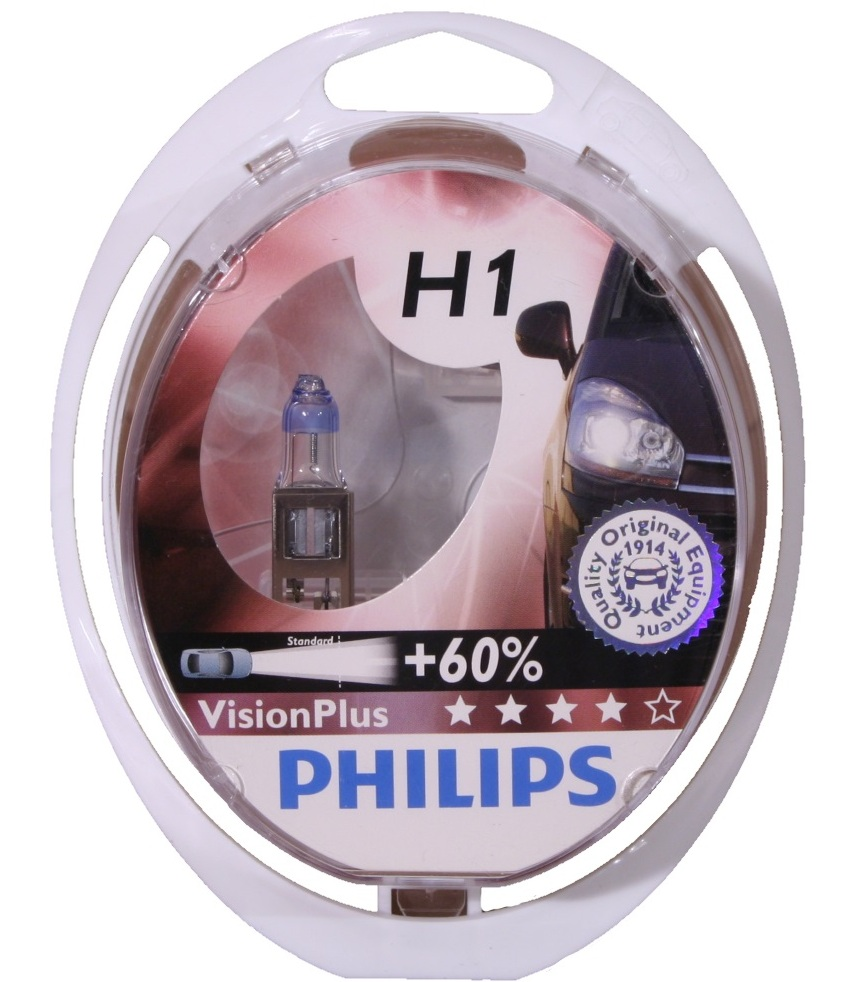 Лампа галогеновая Philips VisionPlus