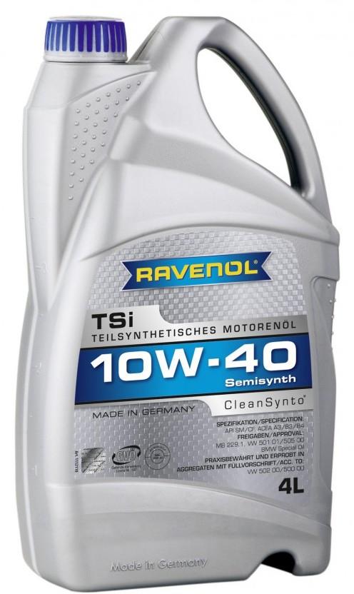 Масло моторное Ravenol TSI 10W-40