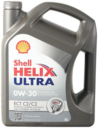 Масло моторное Shell Helix Ultra 0W-30