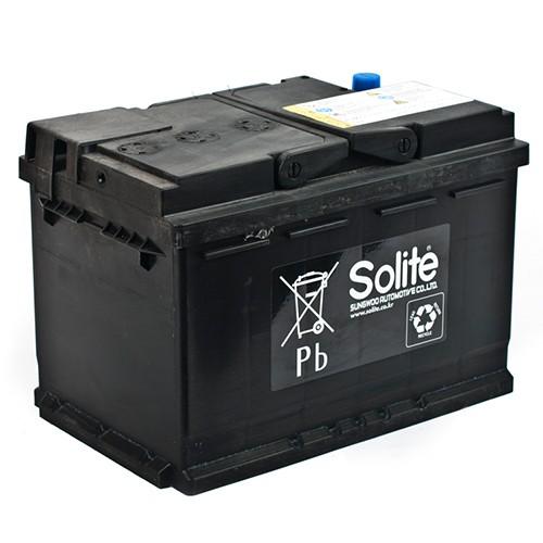 Аккумулятор Solite AGM70 R+