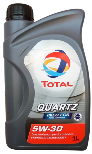 Масло моторное Total Quartz Ineo Ecs 5W-30