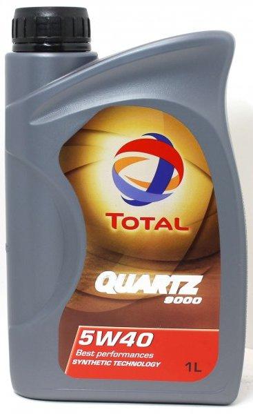 Масло моторное TOTAL Quartz 9000, 5W-40