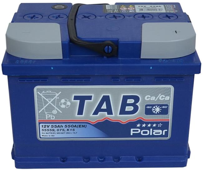 Аккумулятор Tab Polar 55 L+