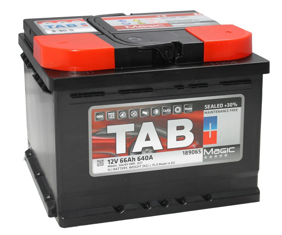 Аккумулятор TAB Magic 66 R+