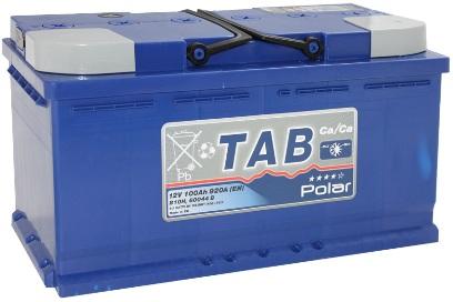Аккумулятор автомобильный Tab Polar 100A R+