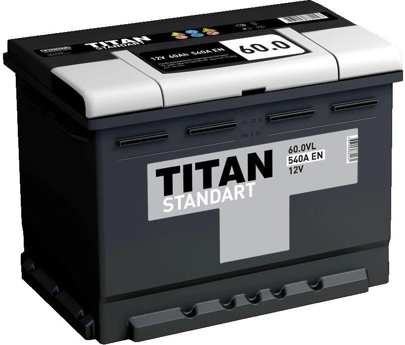 Аккумулятор TITAN Standart 60 L+