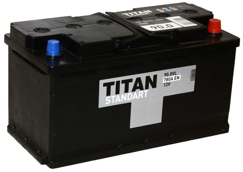 Аккумулятор TITAN Standart 90 R+