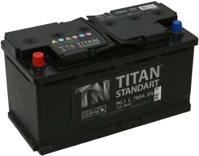 Аккумулятор TITAN Standart 90 L+