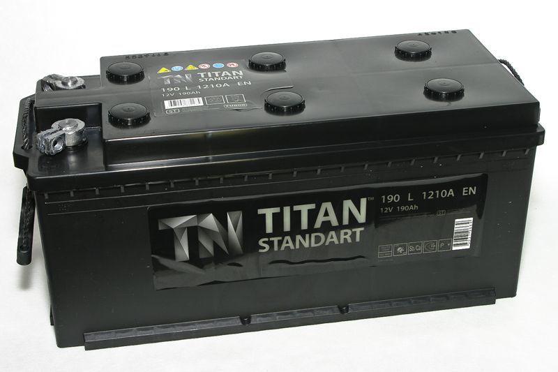 Аккумулятор TITAN Standart 190 L+