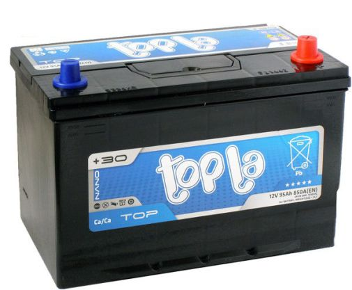 Аккумулятор автомобильный Topla Top JIS Asia 95 R+