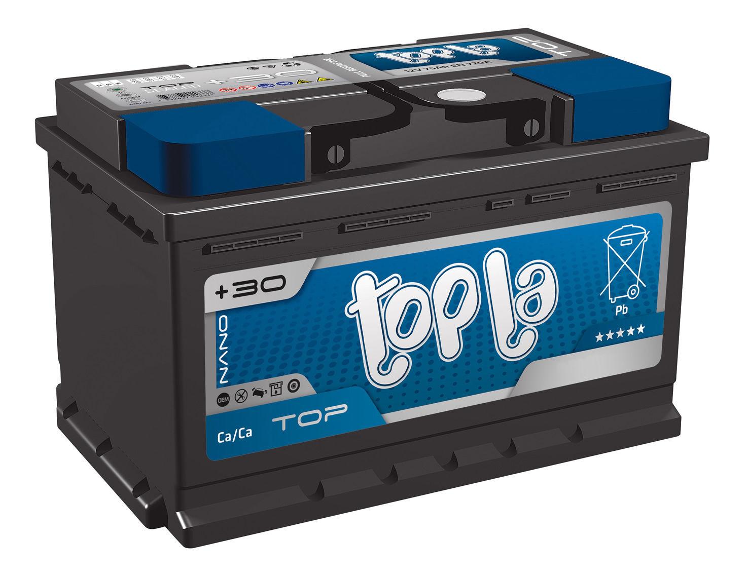 Аккумулятор Topla Top 78A, R+