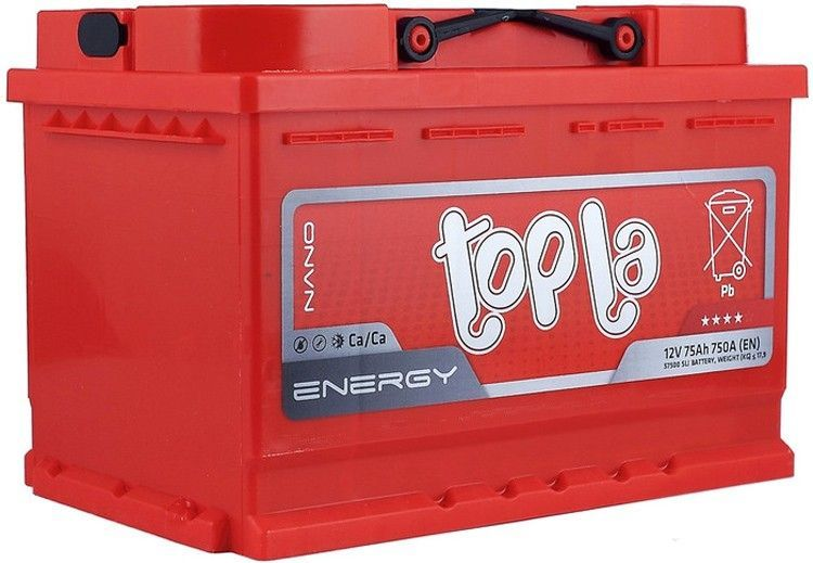 Аккумулятор Topla Energy 75A, L+