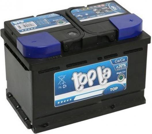 Аккумулятор автомобильный Topla Top 62 R+