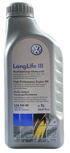 Масло моторное VAG Long Life III, 5W-30