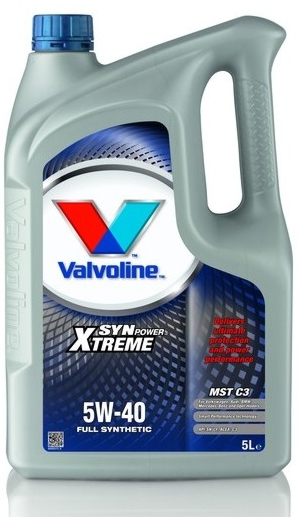 Масло моторное Valvoline Synpower XTREME MST C3 5W-40