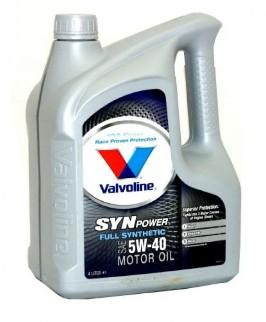 Масло моторное Valvoline SynPower 5W-40