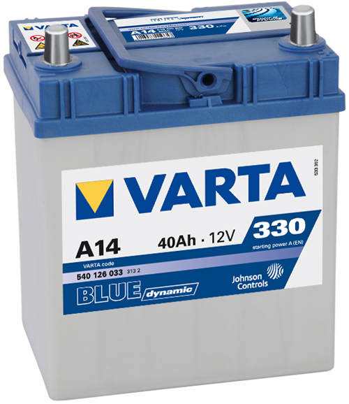 Аккумулятор Varta BD 40 R+