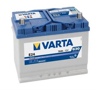 Аккумулятор Varta Blue Dynamic 70Ah 630A, L+ 570 413 063
