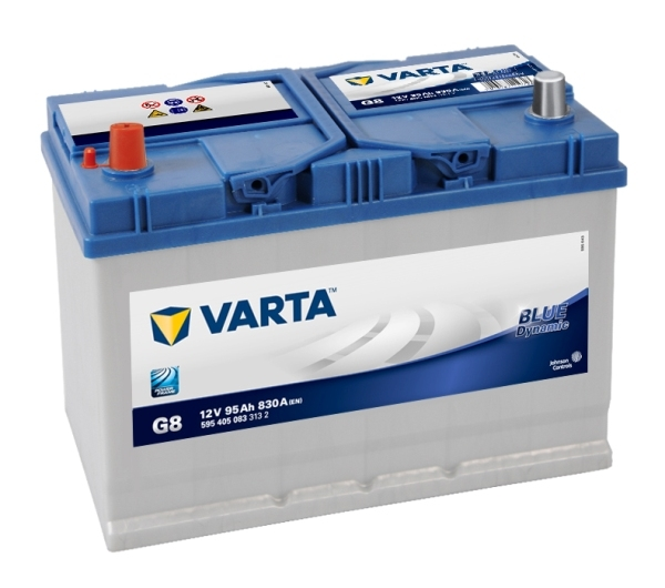 Аккумулятор Varta Blue Dynamic 95Ah 830A, L+ 595 405 083