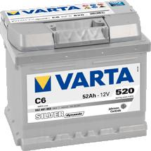 Аккумулятор Varta BD 52 R+