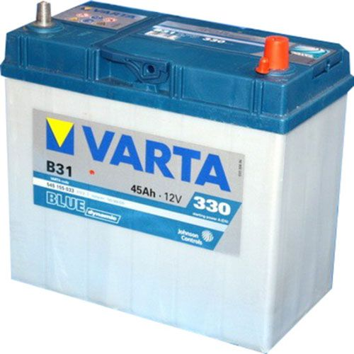 Аккумулятор Varta Blue Dynamic 45Ah 330A, R+ 545 155 033