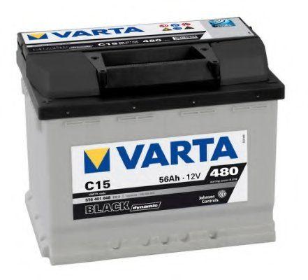 Аккумулятор Varta Black Dynamic 56Ah 480A, L+ 556 401 048
