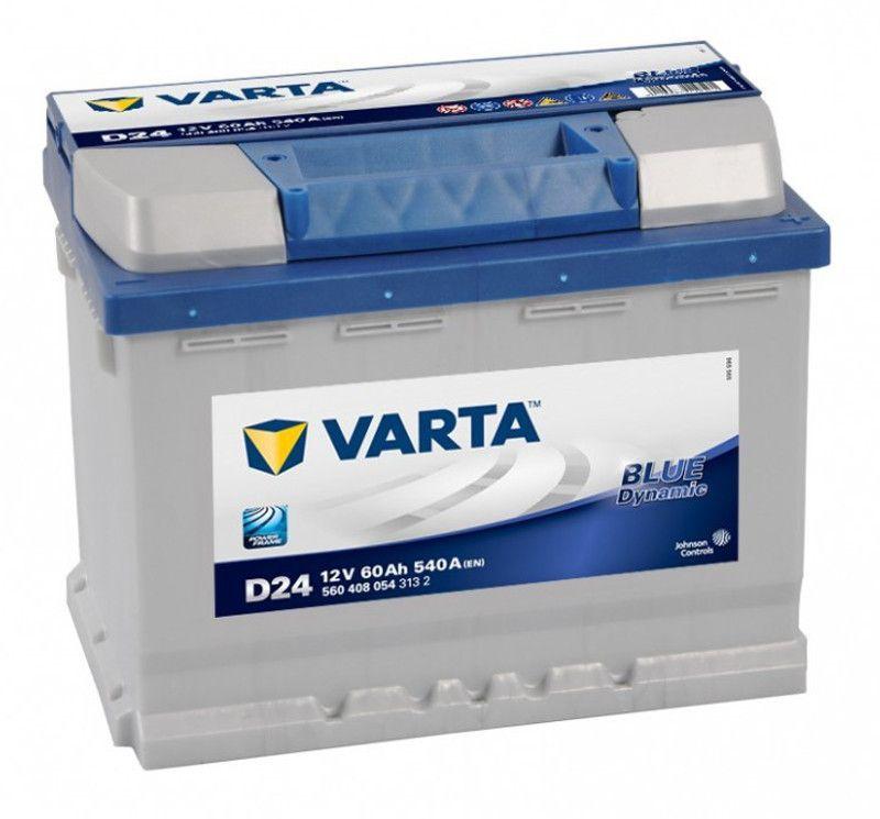 Аккумулятор Varta Blue Dynamic 60Ah 540A R+ 560 408 054
