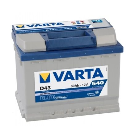 Аккумулятор Varta Blue Dynamic 60Ah, 540A L+ 560 127 054