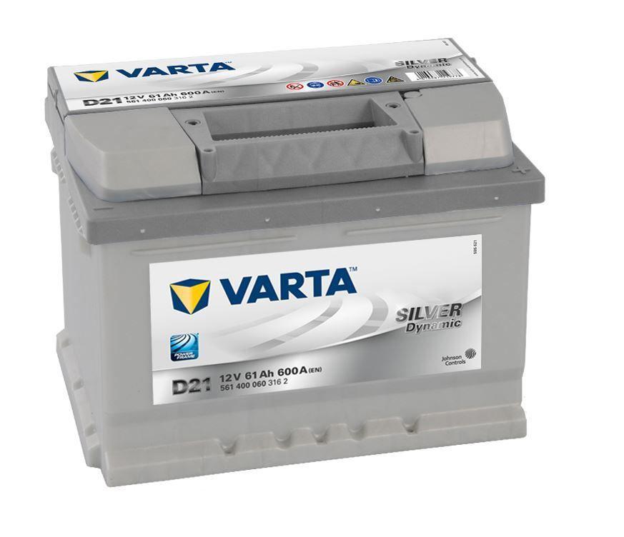 Аккумулятор Varta Silver 61 R+