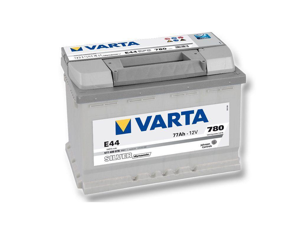 Аккумулятор Varta Silver Dynamic 77Ah 780A, R+ 577 400 078
