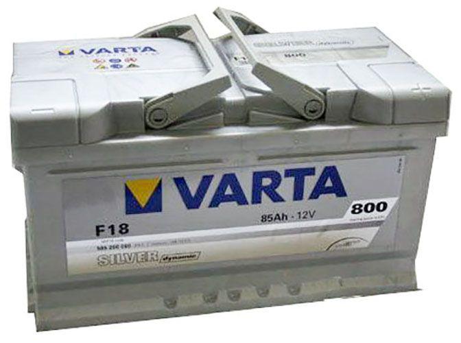 Аккумулятор Varta Silver Dynamic 85Ah 800A, R+ 585 200 080