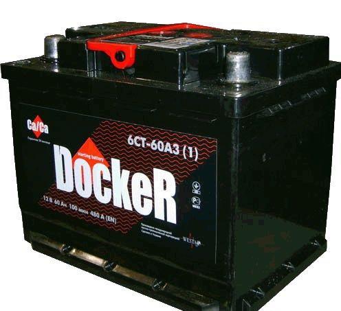 Аккумулятор Docker 60 L+