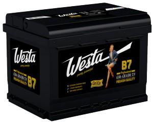 Аккумулятор Westa 63 L+
