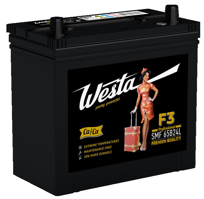 Аккумулятор Westa Asia 50 R+
