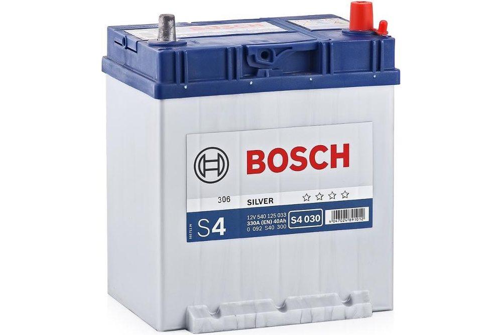 Аккумулятор Bosch S4 Silver Asia 40A R+ S4030