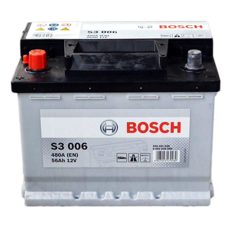 Аккумулятор Bosch S3 56A, L+ S3006