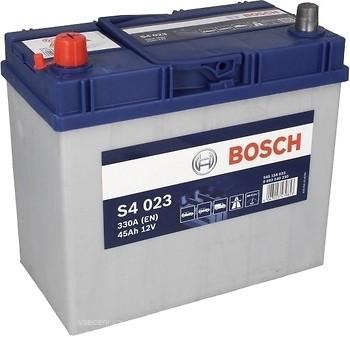Аккумулятор Bosch S4 Silver 45A L+ S4023