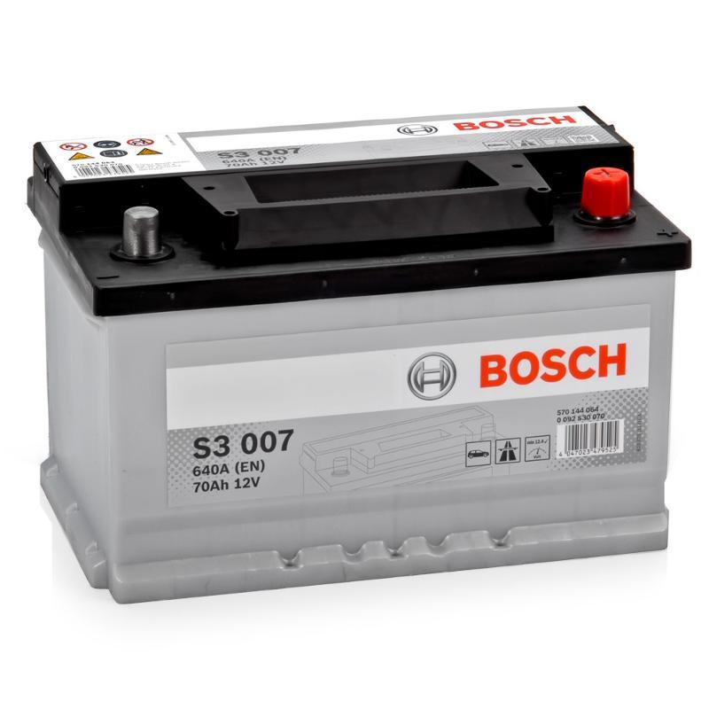 Аккумулятор Bosch S3 70A R+ S3007