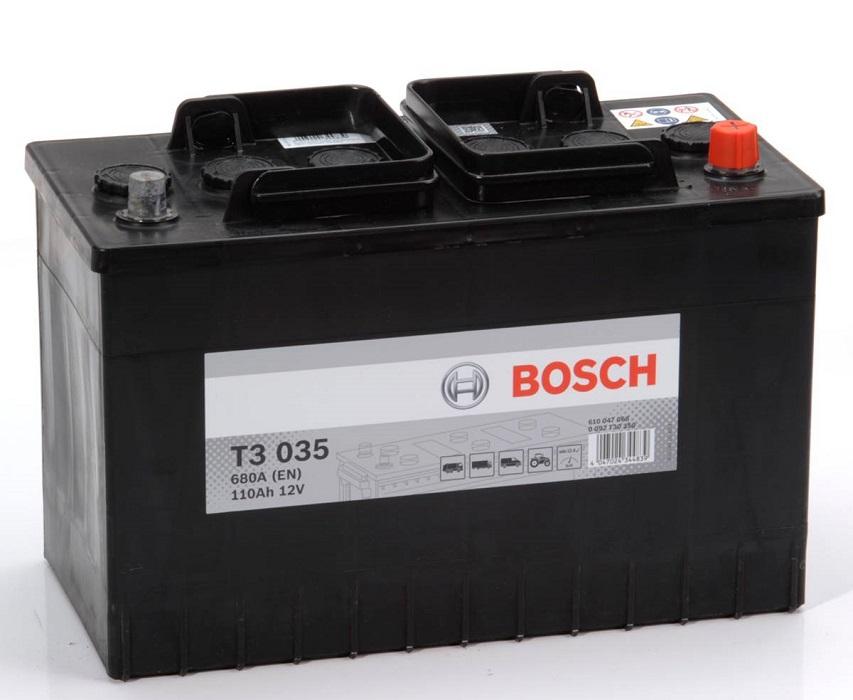 Аккумулятор Bosch T3 110A R+ T3035